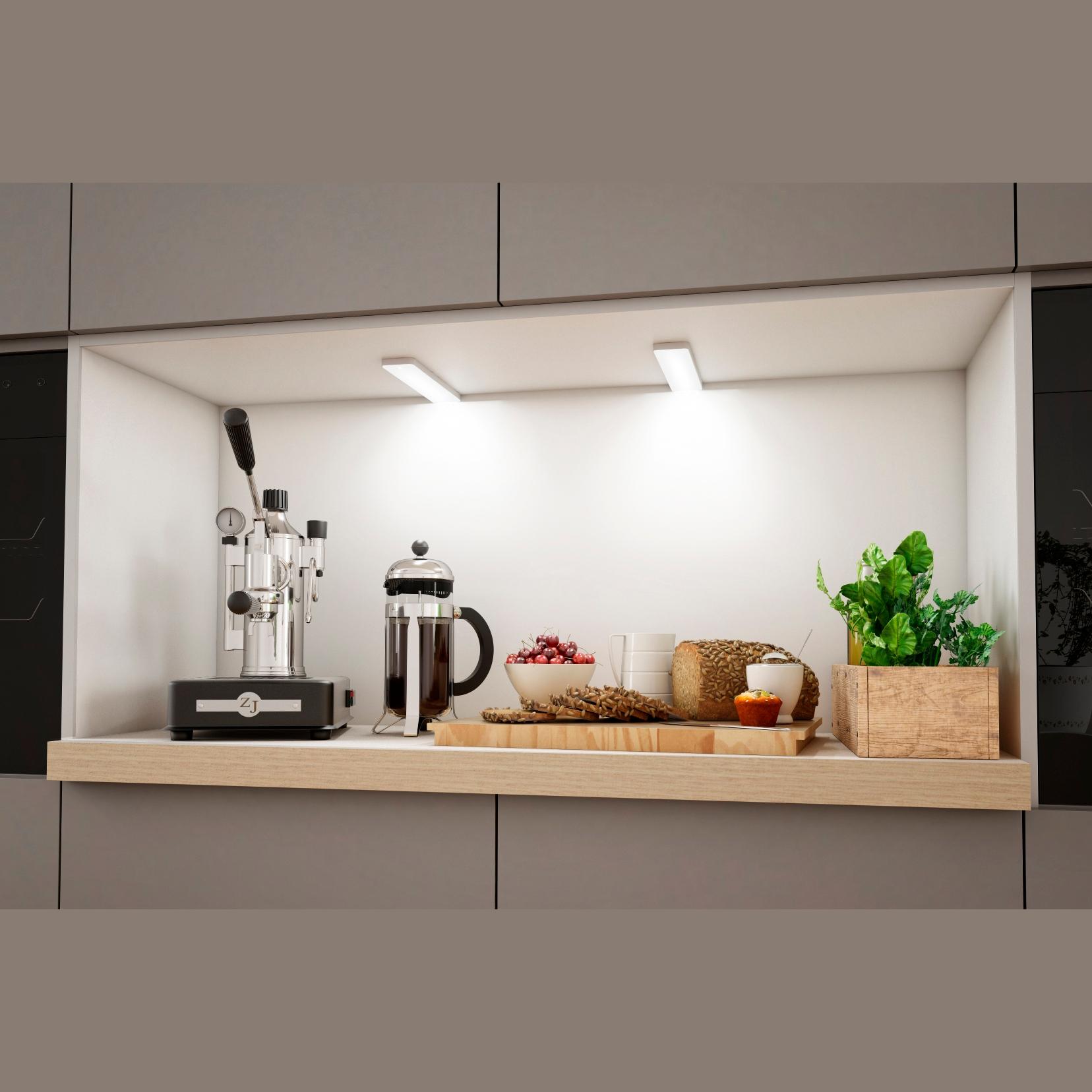Faretti Senza Incasso.Faretto Per Libera Installazione Key Screen Di Forma E Funzione In Alluminio Senza Interruttore Luce Neutra