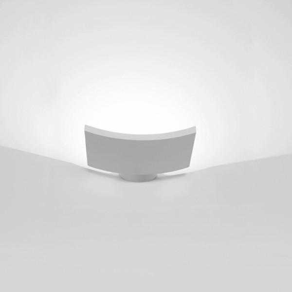 Lampada da parete microsurf di artemide in alluminio - Lampade parete artemide ...